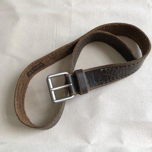 Vintage Levi's Leather Belt - Worn with Love